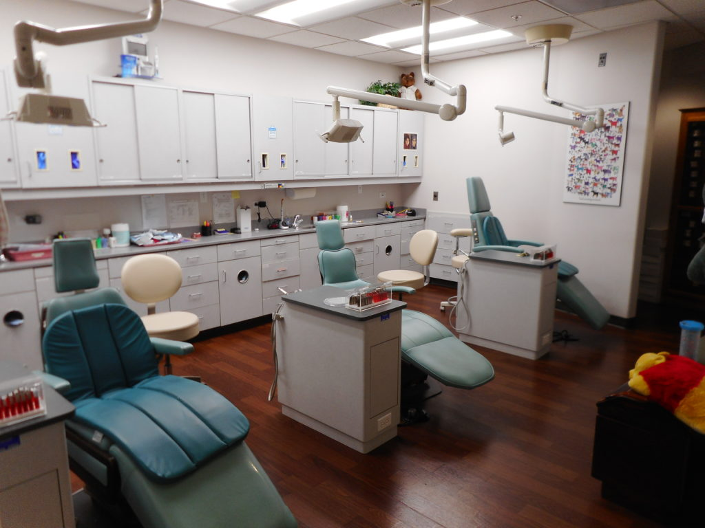 Image of our treatment center where patients receive braces or other orthodontic work.